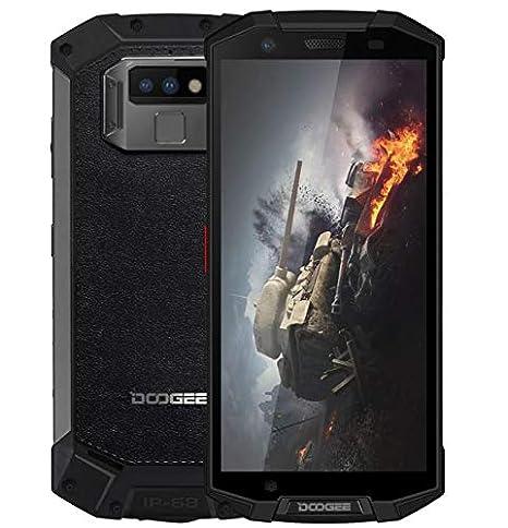 DOOGEE S70 - Smartphone dextérieur 4G FHD +, IP68 / IP69K étanche/antipoussière/Antichoc, Helio P23 Octa Core 6 Go + 64 Go, Mode de Jeu/Charge sans Fil ...