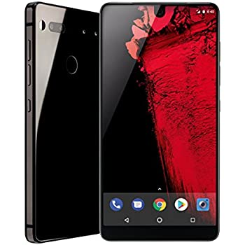 Essential Phone 128 GB Unlocked with Full Display, Dual Camera – Black Moon