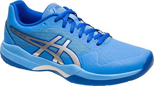 ASICS Gel-Game 7 Women's Tennis Shoe, Blue Coast/Silver, 9 B US