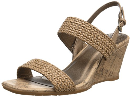 Life Stride Women's Persona Wedge Sandal Sand Synthetic Size