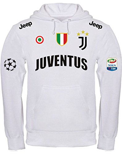 Juventus La Sweat Capuche Black Imprimé s Main À Stage Blanc APSIIUg