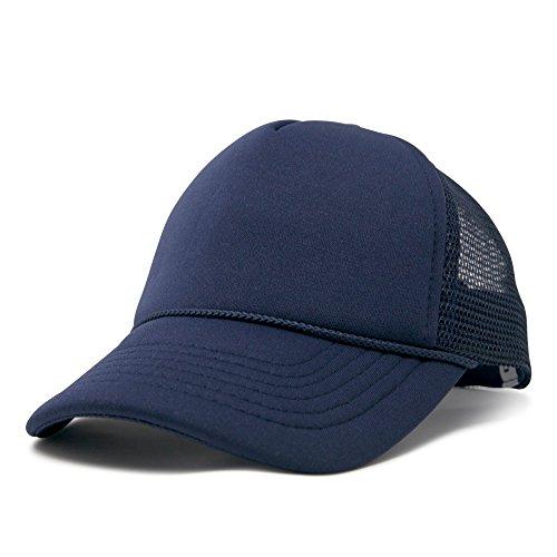 (DALIX Baby Girls Boys Toddler Cap Trucker Hat Caps Childrens Infant Kids Hats (Navy)