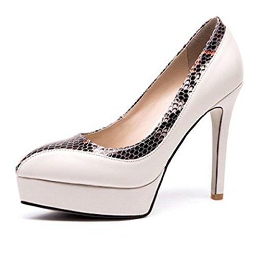 Tägliche Damen Mit Pumps Für Heels Schuhe Stöckelschuhe Pumps High Plateau Party aIrq8Ix