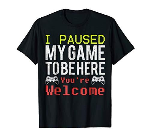 Video Games Shirt For Gamers   TShirt For Men