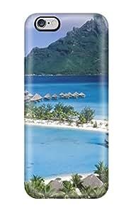 Special Gaudy Martinezs Skin Case Cover For Iphone 6 Plus, Popular Bora Bora Phone Case