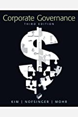 Corporate Governance (3rd Edition) Capa comum
