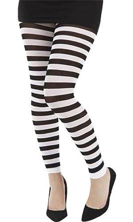 Pamela Mann - Legging rayé blanc - Taille unique  Amazon.fr ... b2eaee524cc