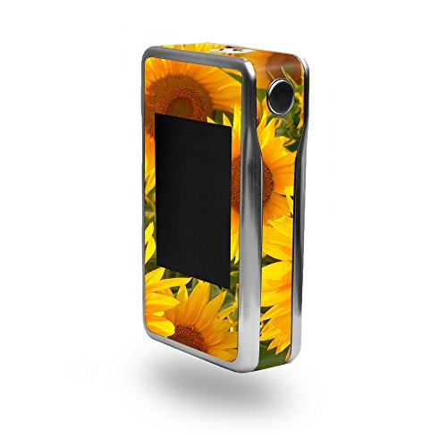 MightySkins Skin Compatible with Sigelei T200 - Sunflowers | Protective, Durable, and Unique Vinyl Decal wrap Cover | Easy to Apply, Remove, and Change Styles | Made in The USA