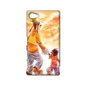 Magical Beauty 3D Mobile Case Goof Troop Print Sony Xperia Z5 Compact Marvelous Fantasy Mobile Case Snap on Sony Xperia Z5 Compact Shell