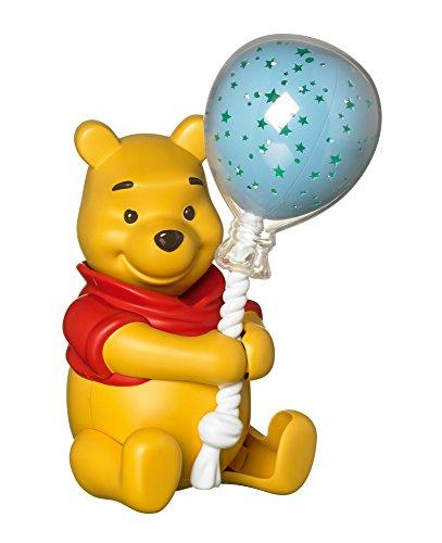 TOMY Winnie l'Ourson - T72199 - Veilleuse Musicale Ballon Etoilé