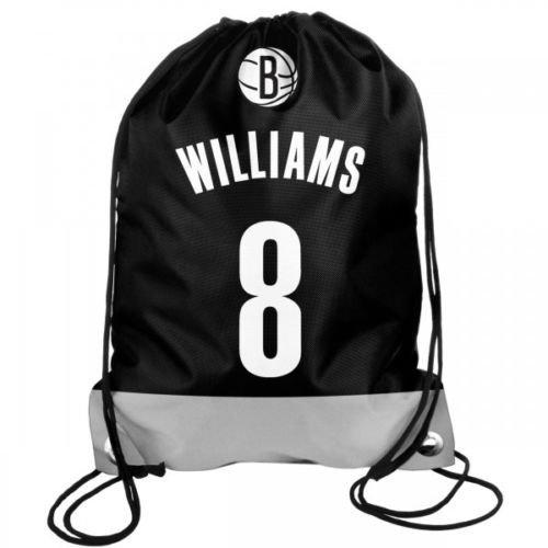NBA Basketball BROOKLYN NETS Deron Williams 8 Rucksack Backpack Sportbeutel Drawstring Gym Bag jPtdZcgMa