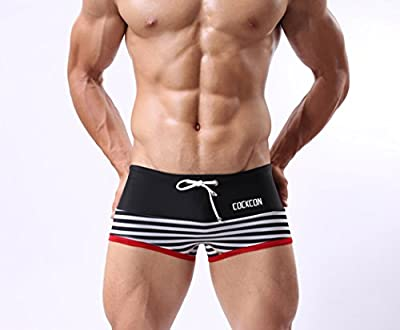 Men's Sports Swimming Underwear Fashion Briefs Trunks