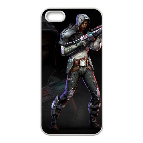 Star Wars The Old Republic 3 coque iPhone 4 4s cellulaire cas coque de téléphone cas blanche couverture de téléphone portable EEECBCAAN00550