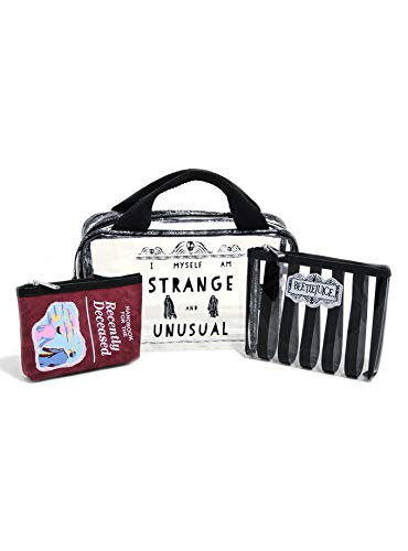 Beetlejuice Makeup - Beetlejuice Cosmetic Bag