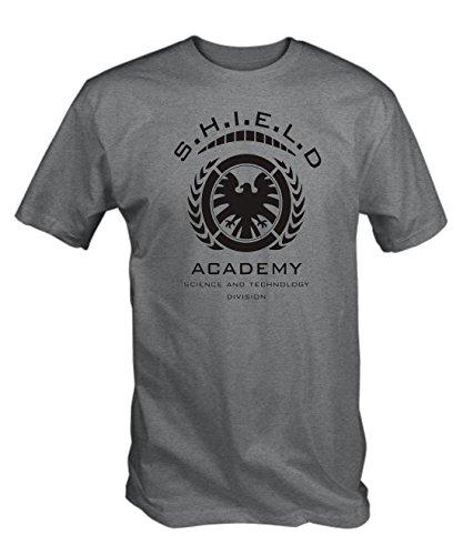 6TN Mens SHIELD ACADEMY T Shirt ( X-Large )