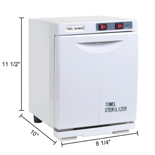 5L UV Heated Towel Warmer Cabinet Spa Sterilizer