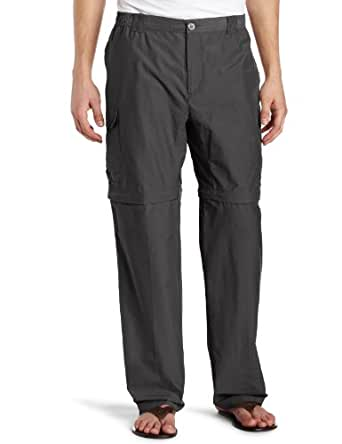 Columbia Men's Crested Butte Convertible Pant, Grill, Large-34