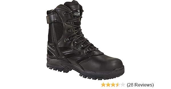 2225b28afb7 Thorogood Men's 8'' Deuce Waterproof Side Zip Puncture Resisting Work Boots