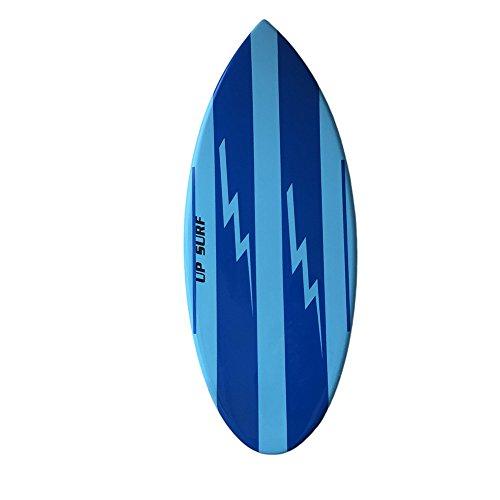 Skimboard 54in Wakesurf Board Professional Series blue by UPSURF