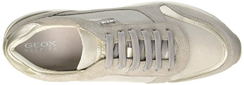 Greyc1010 Femme C Basses Lt D Geox Sneakers Gris AIRELL 1Bvw8xxqZ