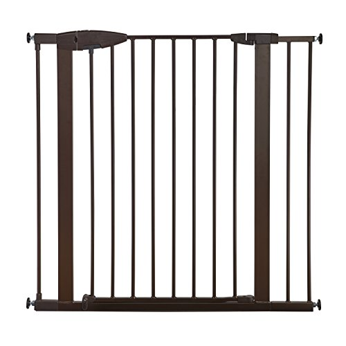 Munchkin Easy Close XL Metal Baby Gate Extension, Bronze, 11 inch by Munchkin (Image #3)