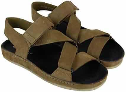 1e03921d2cd5 CLARKS Ranger Sport Mens Brown Nubuck Sport Sandals Strap Sandals Shoes