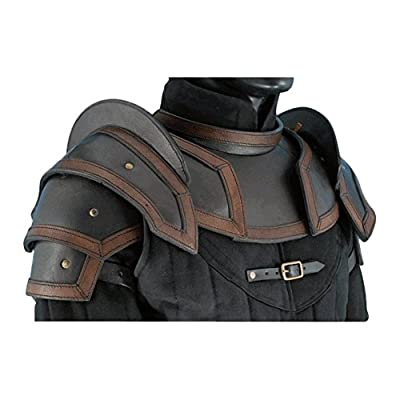 Armor Venue: Leather Shoulder Armour with Neck Guard