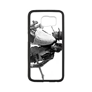 Samsung Galaxy S6 Cell Phone Case White Bruce Springsteen zgvj