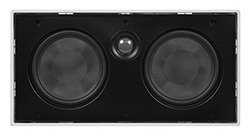 Monoprice 106317 5-1/4-Inch Center Channel Micro-Flanged In-Wall Speaker (Monoprice Center compare prices)