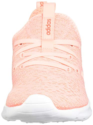 adidas Women's Cloudfoam Pure, Clear Orange/Solar red, 5 M US by adidas (Image #4)