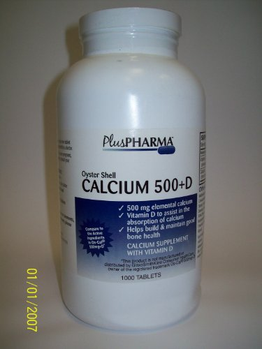 Cheap Oyster Shell Calcium 500mg + Vitamin D 200iu (Compare to OsCal 500mg+D)