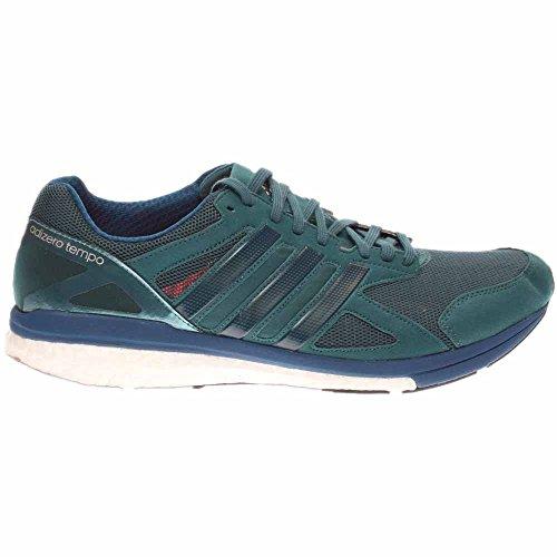 Zapatillas De Running Adidas Hombres Adizero Tempo 8 M Tech Green / Tech Steel / Tech Steel Fabric