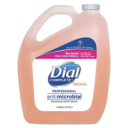 Dial 99795 Antimicrobial Foaming Hand Wash, Original Scent, 1gal Dial Foaming Antimicrobial Soap