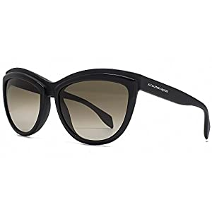 Alexander McQueen Cateye Sunglasses in Black AMQ 4247/S 3B6 58