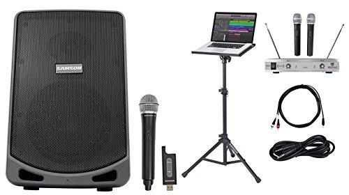 "Samson 6"" Portable Powered YouTube Karaoke Machine/System+"