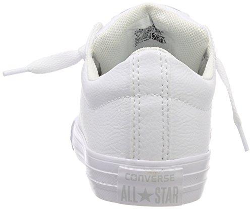 100 Chaussures Mixte Blanc Slip Converse Fitness white De Street Adulte white Ctas white xwqSg17