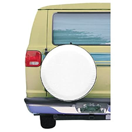 White Classic Accessories 75120 OverDrive Custom Fit Spare Tire Cover 25.5-26.5