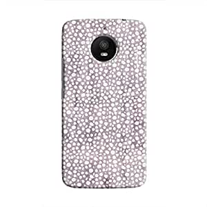 Cover It Up - Purple Pebbles Mosaic موتو ايه4 Plus Hard Case
