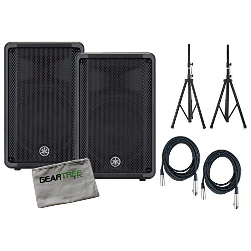 Set of Two Yamaha DBR10 700-Watt Powered Speakers with for sale  Delivered anywhere in USA