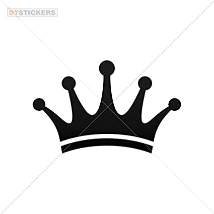 Princess Crown Custom Name Car Truck Decal Sticker