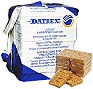 Datrex Emergency Rations 3600 Cal | 18 Bars per Pack | 4 Pack
