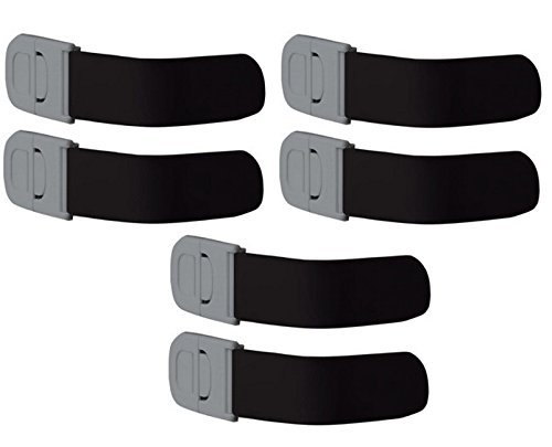 Safety 1st Multi-Purpose Appliance Lock Decor, 6-Count
