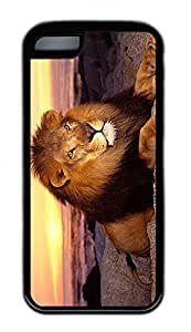 Distinct Waterproof Lion Design Your Own iPhone 5c Case