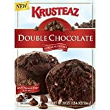 Krusteaz Double Chocolate Muffin Mix, 20-Ounce Boxes (Pack of 2)