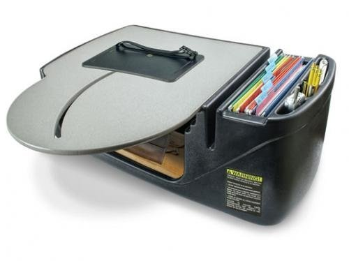 AutoExec Roadmaster Truck Desk (Roadmaster Truck w Built-in 400 W Inverter)