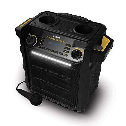 Ion Explorer Outback 2 Bluetooth Water Resistant Speaker System Black
