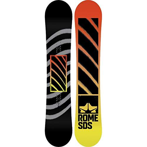 - Rome Snowboards Factory Rocker Snowboard, Black, 161