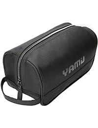 Toiletry Bag Travel Dopp Kit for Men & Women (Black)
