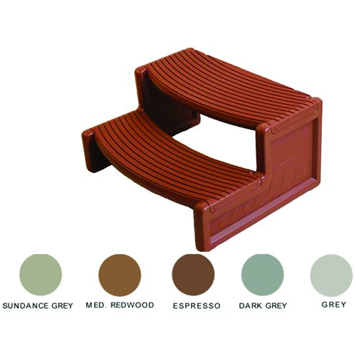 Leisure Accents Handi-Step for Spa (Espresso) by Leisure Accents