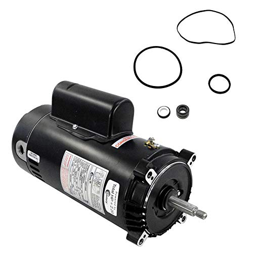 Motor 56j Replacement 230v - Puri Tech Hayward Super II 2HP SP3015X20AZ Replacement Motor Kit AO Smith UST1202 w/GO-KIT-2